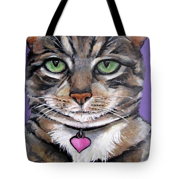 Marvelous Minnie The Gallery Cat Tote Bag