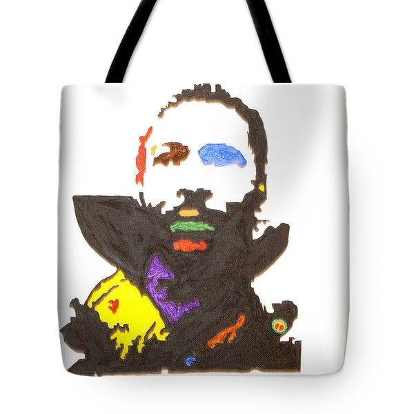 Tote Bag featuring the painting Marvin Gaye by Stormm Bradshaw