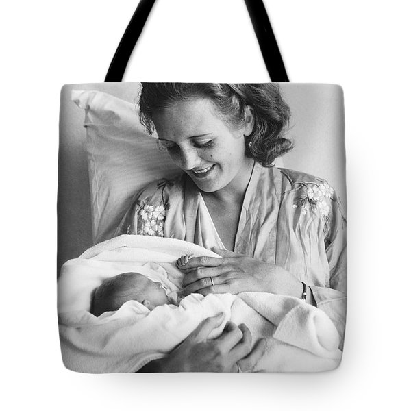 Mary Astor's New Daughter Tote Bag