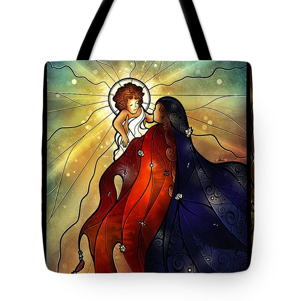 Mary Did You Know Tote Bag