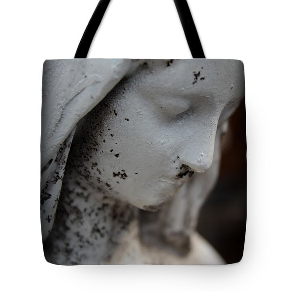 Mary In The Garden Tote Bag by Lynn Sprowl