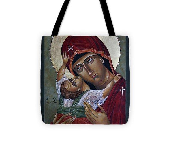 Mary Kadiotissa Tote Bag by Mary jane Miller