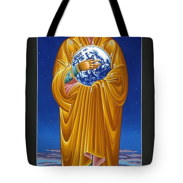 Mary Most Holy Mother Of All Nations 080 Tote Bag