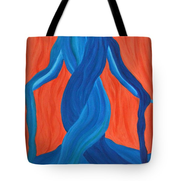 Mary - Mother Of Earth - Mother Of Light Tote Bag by Daina White