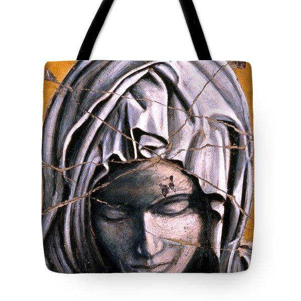 Mary Super Petram - Study No. 1 Tote Bag by Steve Bogdanoff