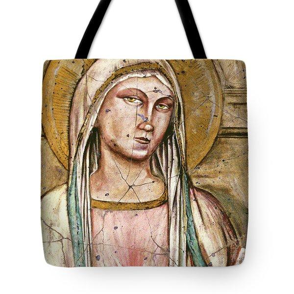 Mary Super Petram - Study No. 2 Tote Bag by Steve Bogdanoff
