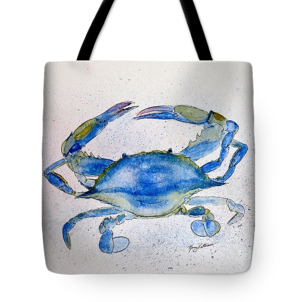 Maryland Blue Crab  Tote Bag by Nancy Patterson