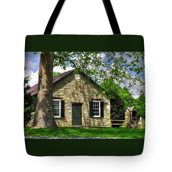 Maryland Country Churches - Fairview Chapel-1a Spring - Established 1847 Near New Market Maryland Tote Bag