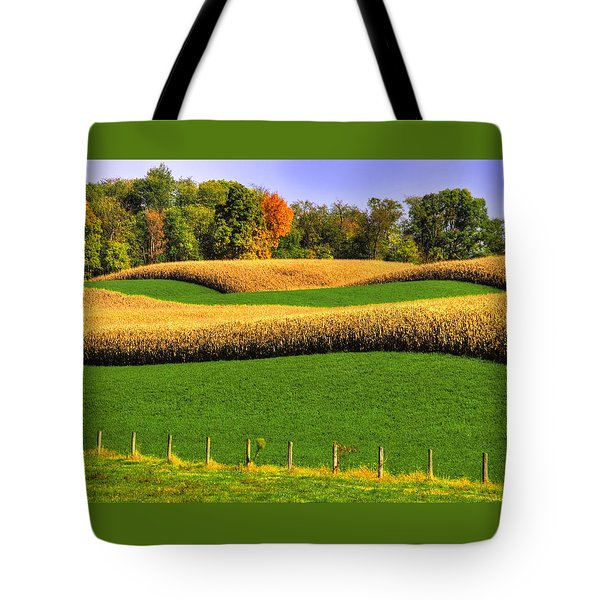 Maryland Country Roads - Swales Tote Bag
