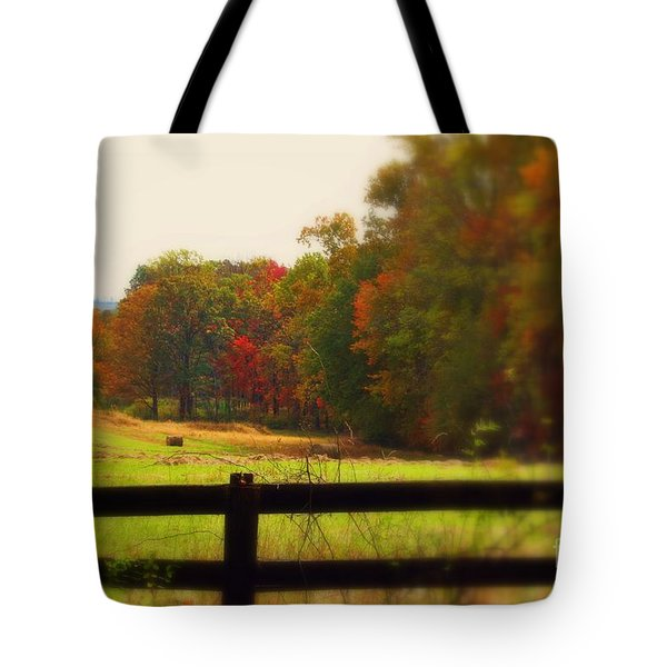 Maryland Countryside Tote Bag by Patti Whitten