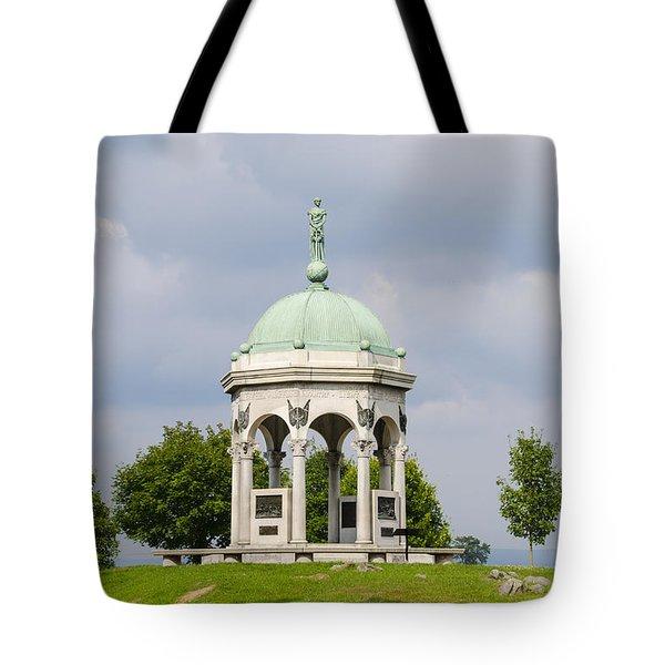 Maryland Monument - Antietam National Battlefield Tote Bag