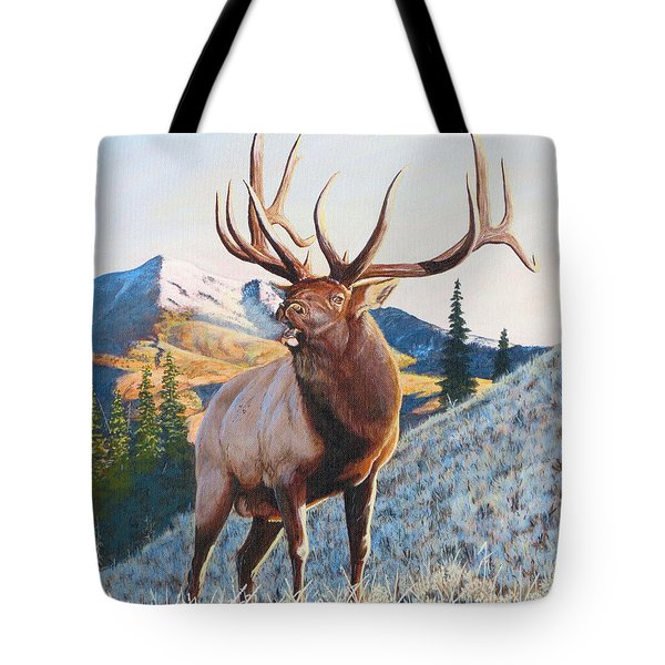 Mary's River Morning Tote Bag