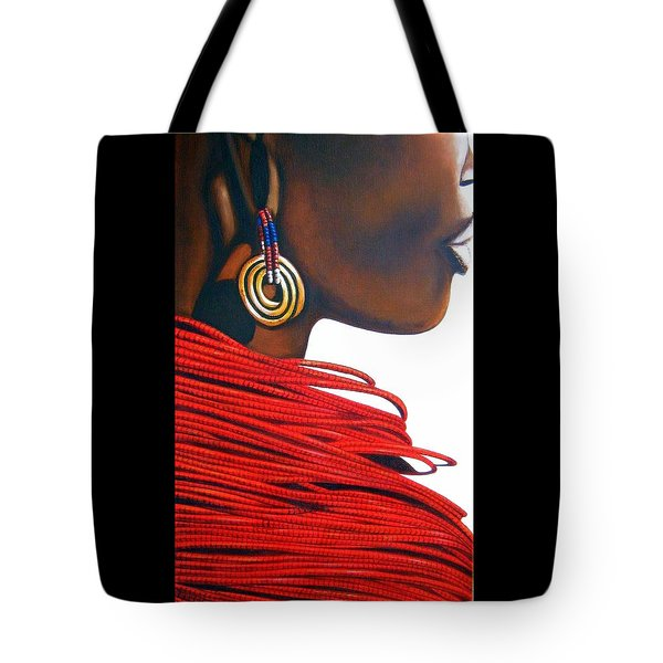 Masai Bride - Original Artwork Tote Bag