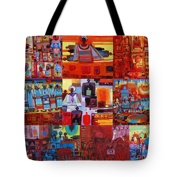 Maseed Maseed 4 Tote Bag by Mohamed Fadul