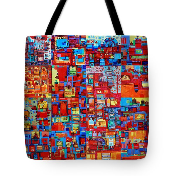 Maseed Maseed Tote Bag by Mohamed Fadul