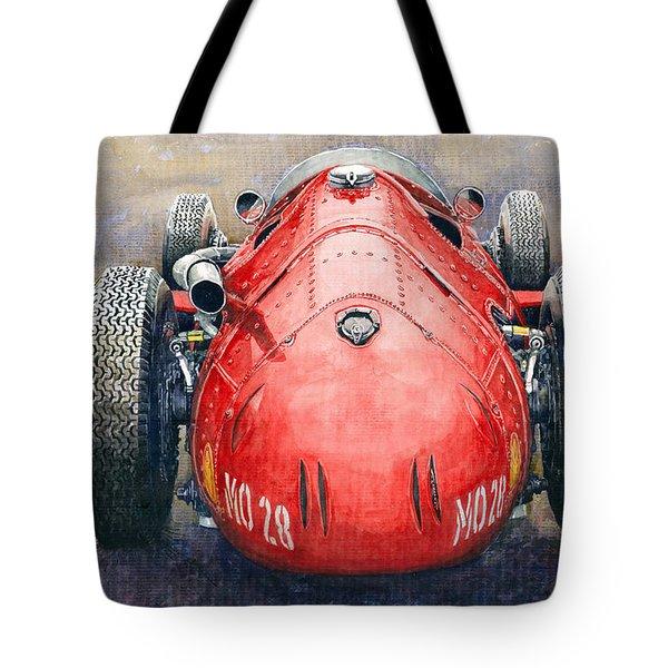 Maserati 250f Back View Tote Bag