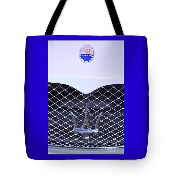 Maserati Emblems Tote Bag