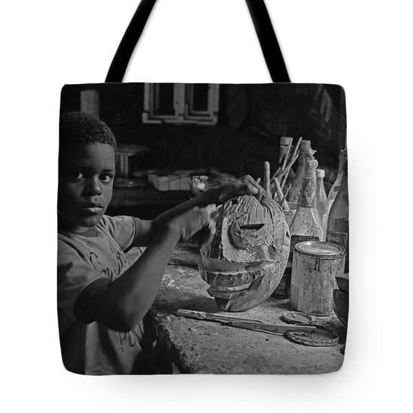Mask Maker Tote Bag
