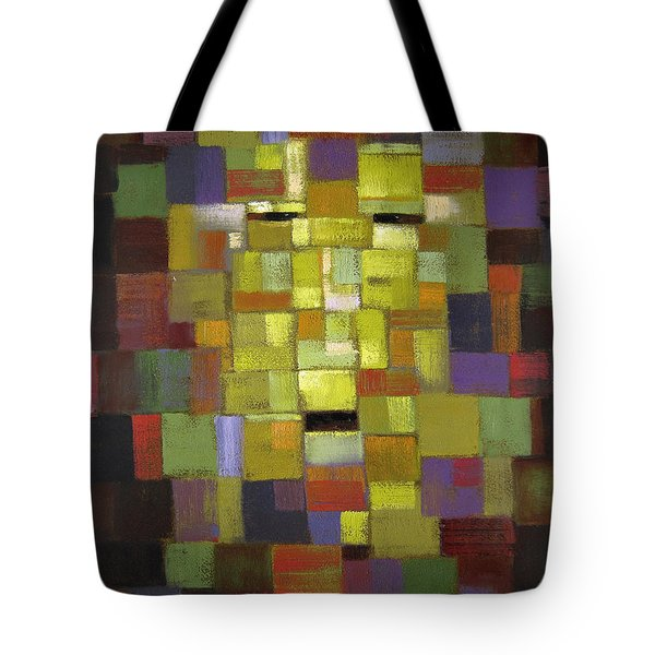 Mask Of Color Tote Bag