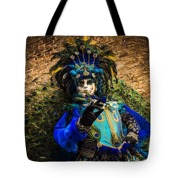 Mask Portrait I Tote Bag