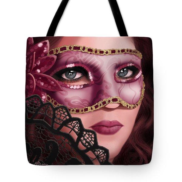 Masked II Tote Bag