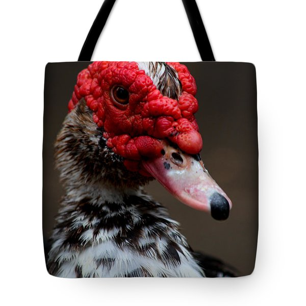 Masked Muskovy Tote Bag
