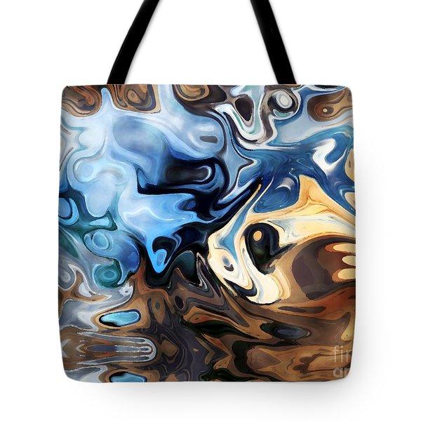 Masks Tote Bag by Annie Zeno