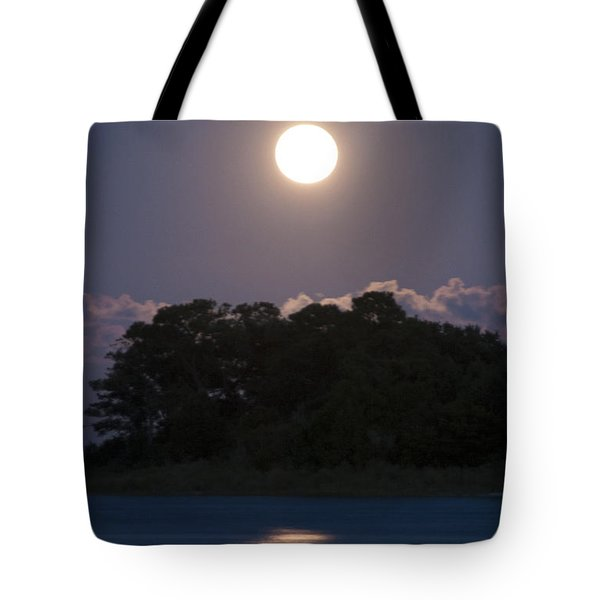 Masonboro Moonrise Tote Bag