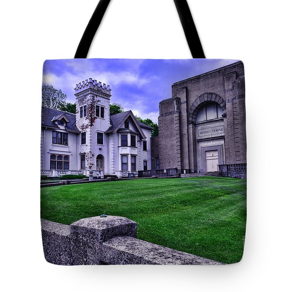 Masonic Lodge Tote Bag by Paul Ward