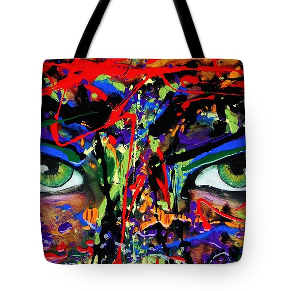 Masque Tote Bag by Michael Cross