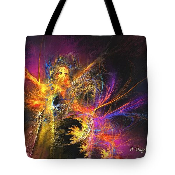 Masquerade Tote Bag by Francoise Dugourd-Caput