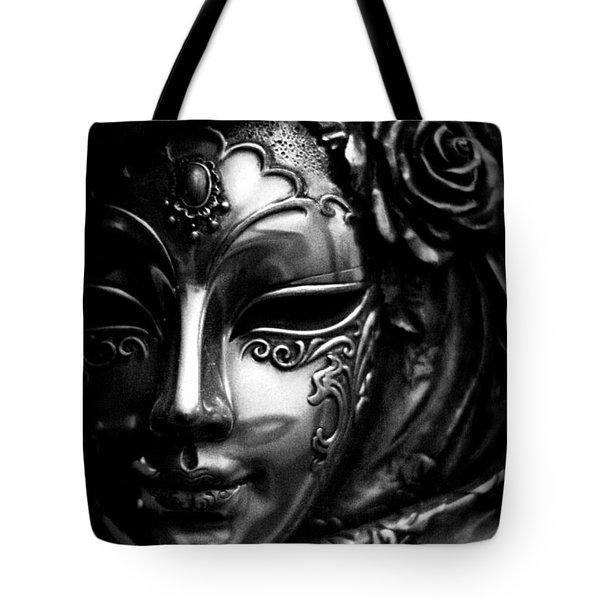 Masquerade In Grey Tote Bag
