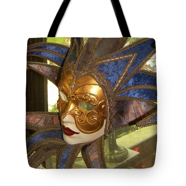 Masquerade Tote Bag by Jean Goodwin Brooks