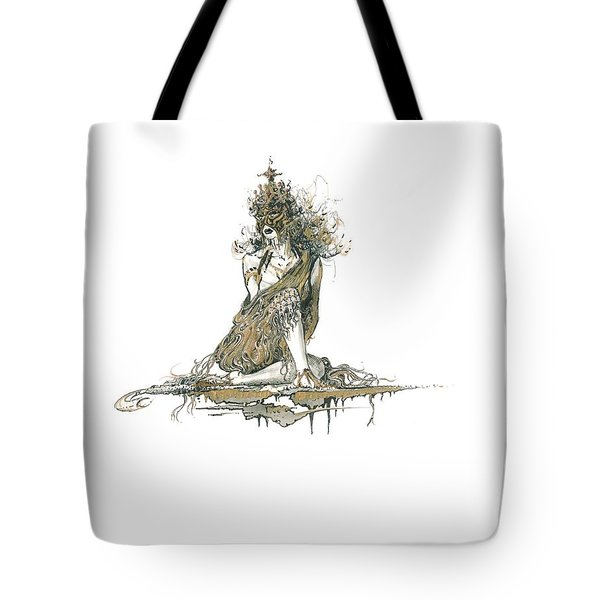 Wanita Tote Bag by Julio Lopez