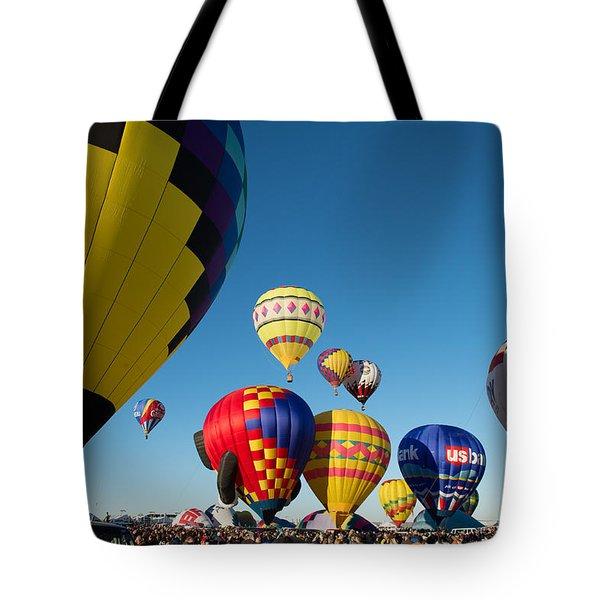 Mass Launch Tote Bag