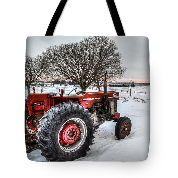 Tote Bag featuring the photograph Massey Ferguson 165 by Garvin Hunter