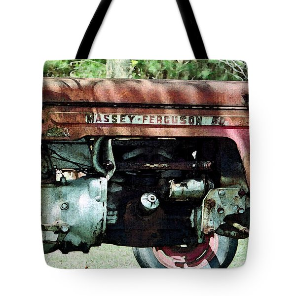 Massey-ferguson Tote Bag by Patricia Greer