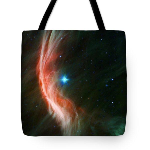 Massive Star Makes Waves Tote Bag