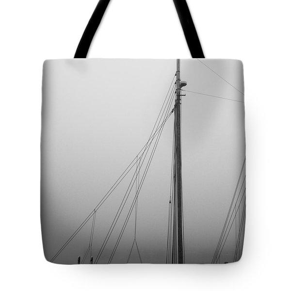 Mast And Rigging Tote Bag by Bob Orsillo