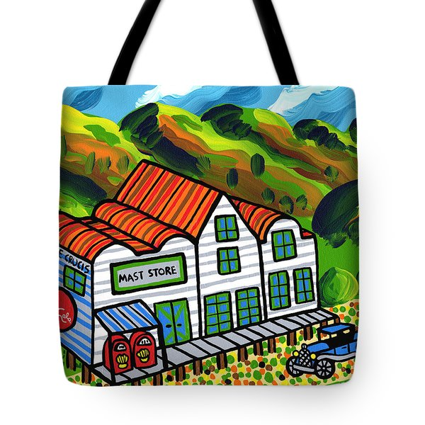 Mast Store Valle Crucis North Carolina Tote Bag