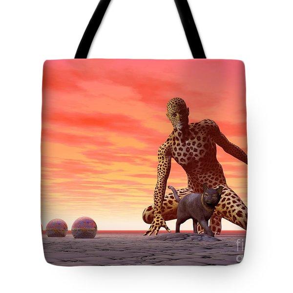 Master And Servant - Surrealism Tote Bag