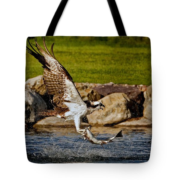Master Fisherman Tote Bag by Jack Bell