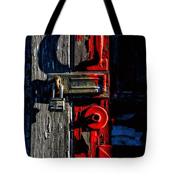 Master Of The Old Red Barn Tote Bag by Bob Orsillo