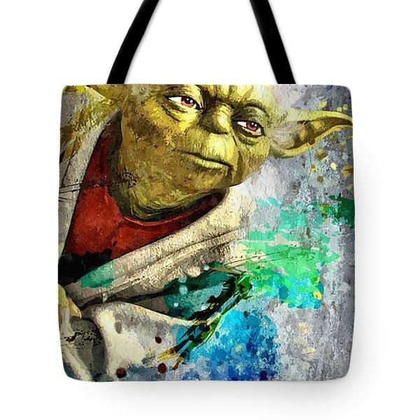 Master Yoda Tote Bag by Daniel Janda