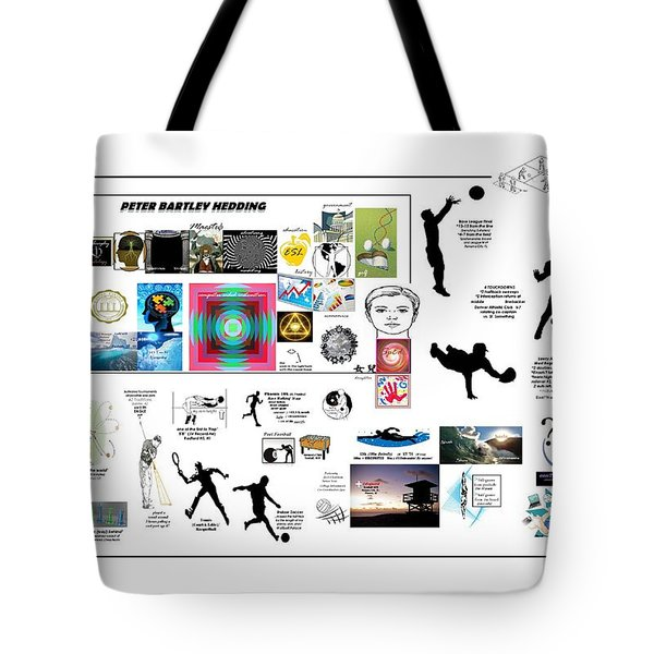 Mastering Tote Bag by Peter Hedding
