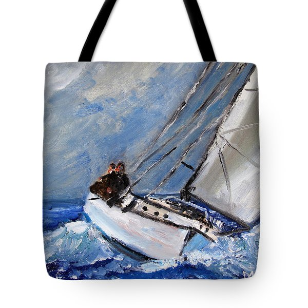 Mastering The Wind Tote Bag