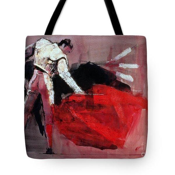 Matador Tote Bag by Mark Adlington