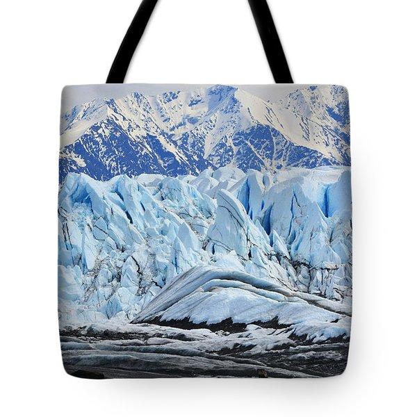 Matanuska Glacier Tote Bag by Andrew Matwijec