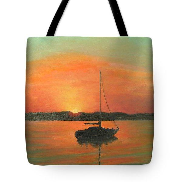 Matanzas Bay Sunrise Tote Bag