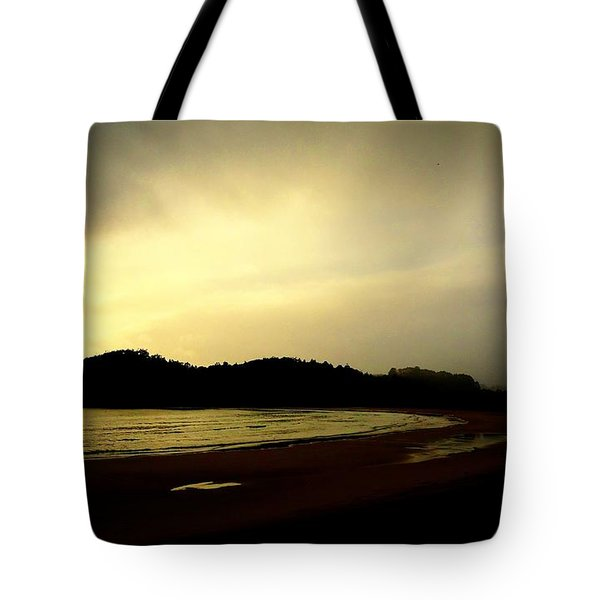 Matapouri At Sunrise Tote Bag